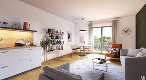 Programme immobilier neuf de 2 à 4 pièces Pont Eveque