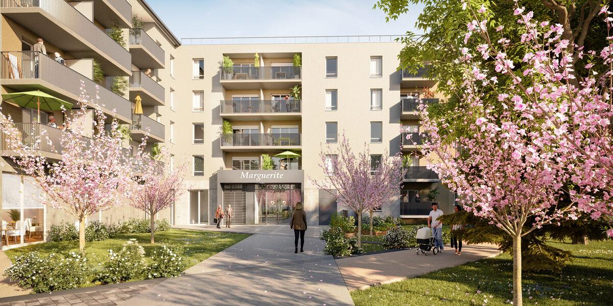 Appartement à vendre : Bourg-en-bresse . 43.91 m² . 2 pièces