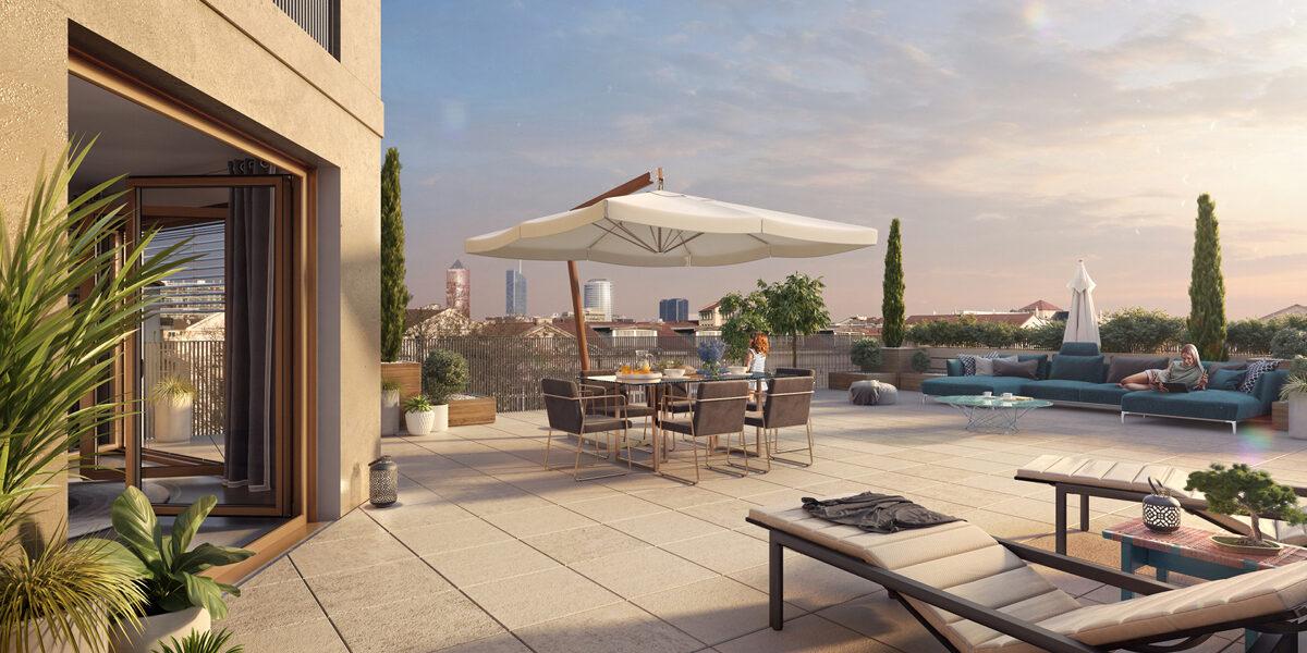 Appartement à vendre : Lyon-3 . 42.26 m² . 2 pièces