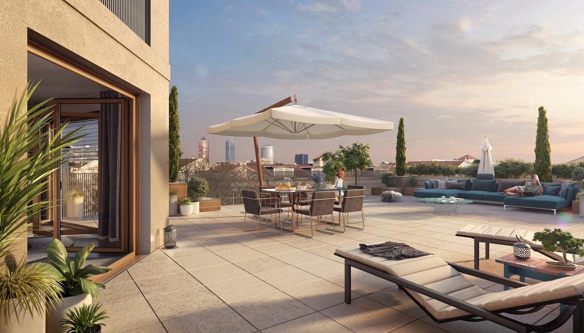 Appartement à vendre : Lyon . 27.65 m² . 1 pièce / studio