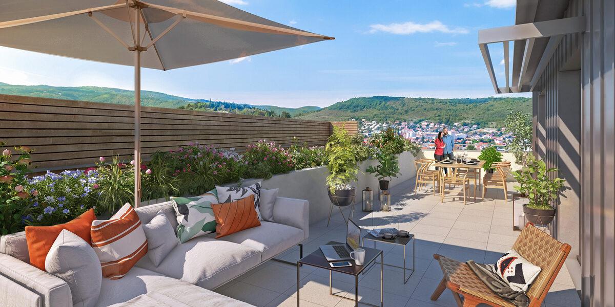 Appartement à vendre : Clermont-ferrand . 44.65 m² . 2 pièces