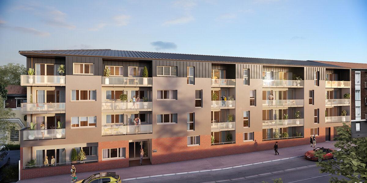 Appartement à vendre : Le-petit-quevilly . 40.59 m² . 2 pièces
