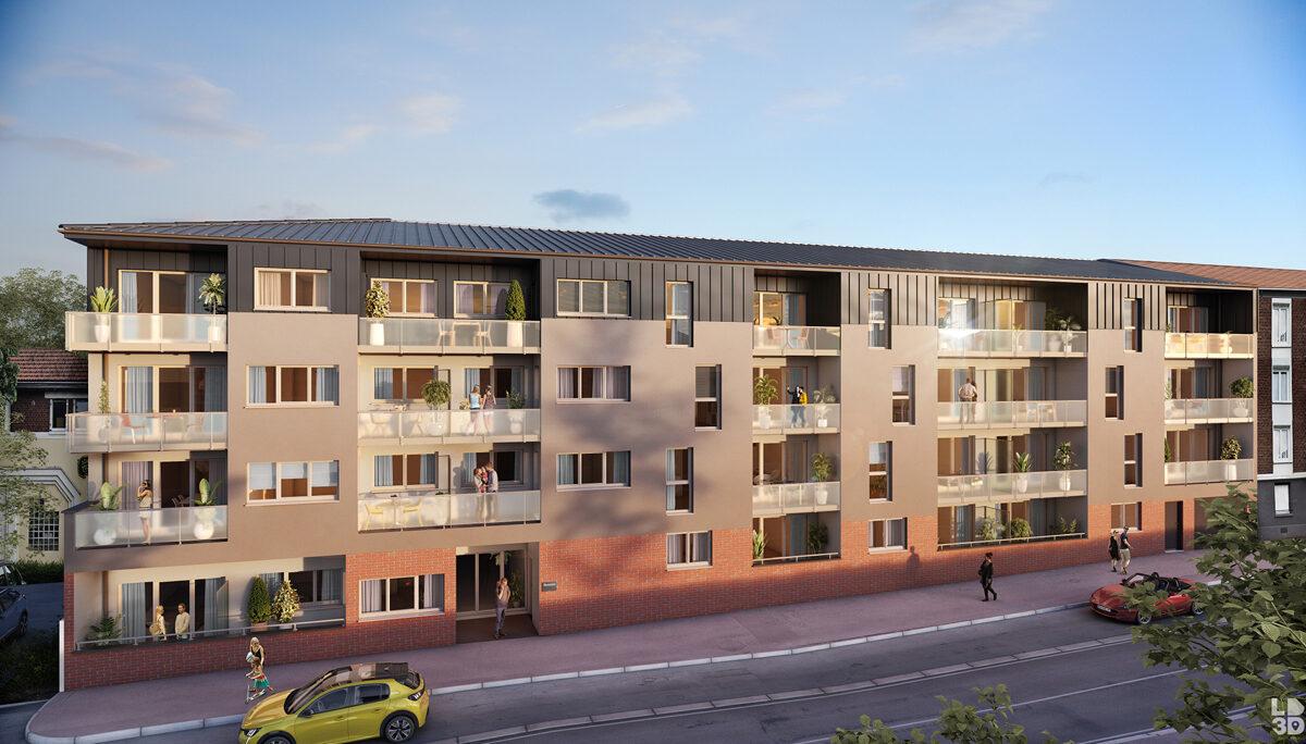 Programme immobilier neuf LE PATIO - LE PETIT QUEVILLY