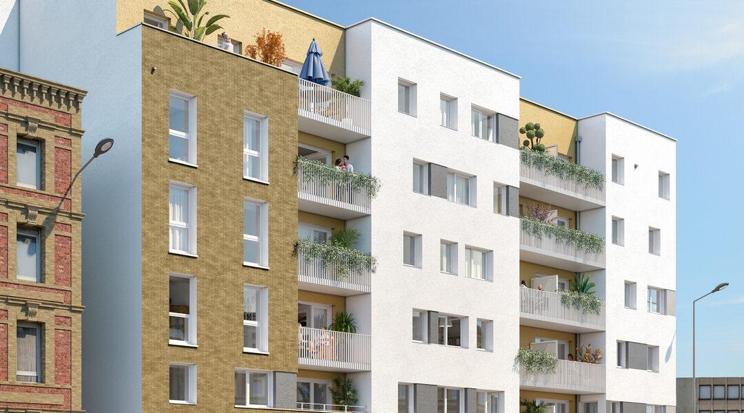 Appartement à vendre : Le-havre . 40.91 m² . 2 pièces