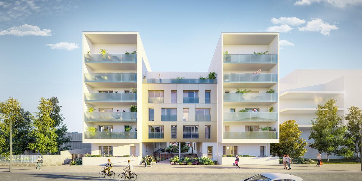 Appartement à vendre : Nantes . 39.82 m² . 2 pièces