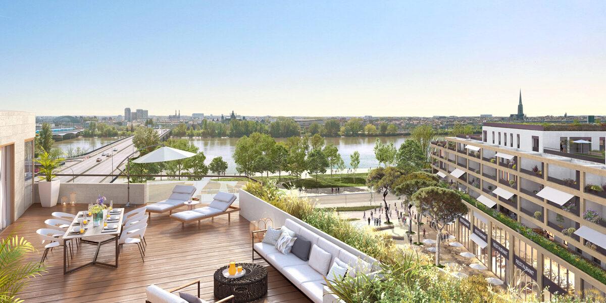 Appartement à vendre : Bordeaux . 80.7 m² . 4 pièces