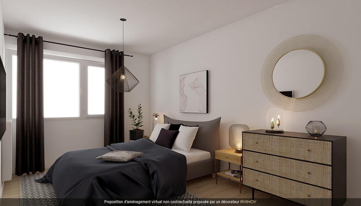Appartement à vendre : Bordeaux . 63.3 m² . 3 pièces