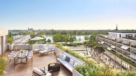 Programme immobilier neuf de 1 à 5 pièces Bordeaux