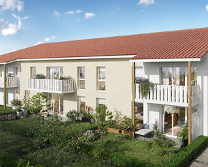 Programme immobilier neuf GREEN HARMONY - ST LOUBES