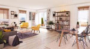 Programme immobilier neuf de 2 à 4 pièces Carbon Blanc