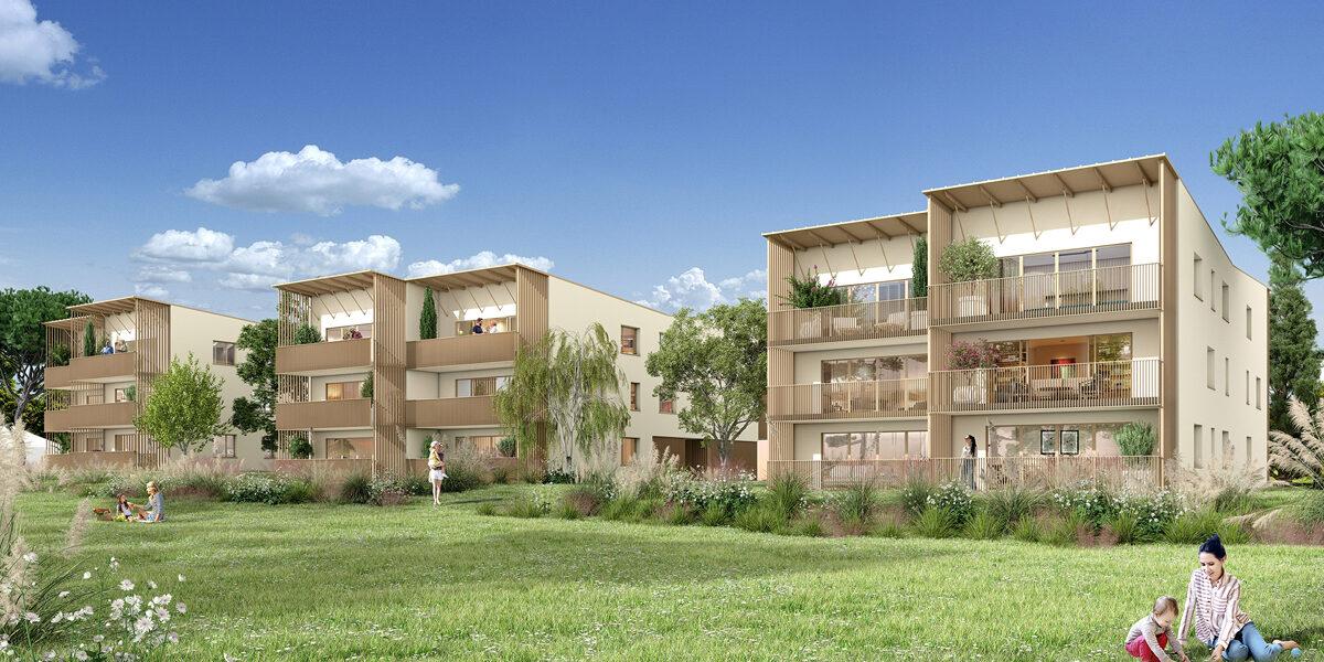 Appartement à vendre : Carbon-blanc . 45.91 m² . 2 pièces