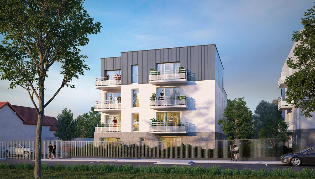 Programme immobilier neuf LE CHURCHILL - DREUX