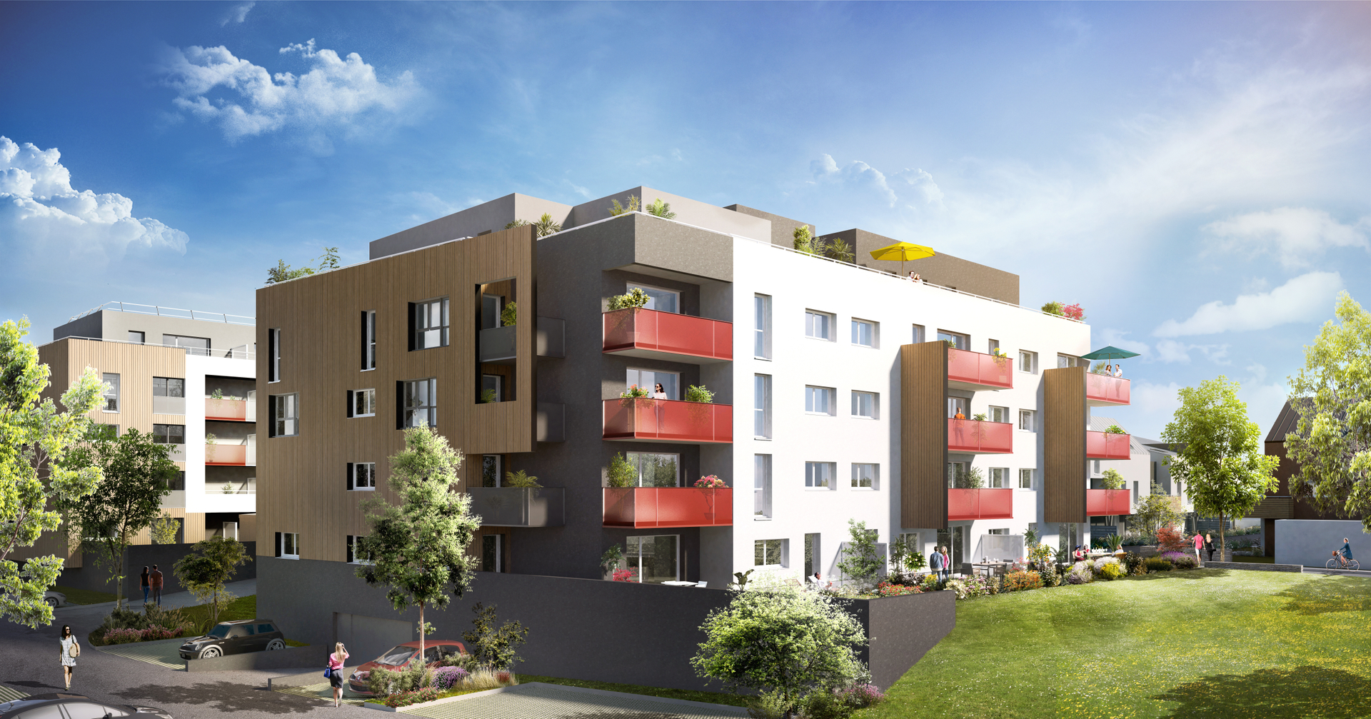 Appartement 2pcs 35230 NOYAL CHATILLON SUR SEICHE