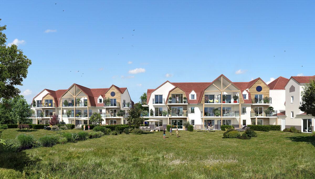 Programme immobilier neuf LES TERRASSES DE LA BAIE - ETAPLES