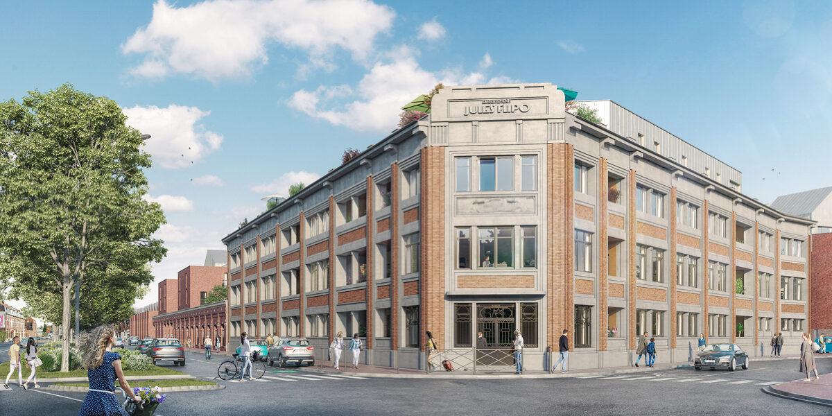 Appartement à vendre : Tourcoing . 29.26 m² . 1 pièce / studio