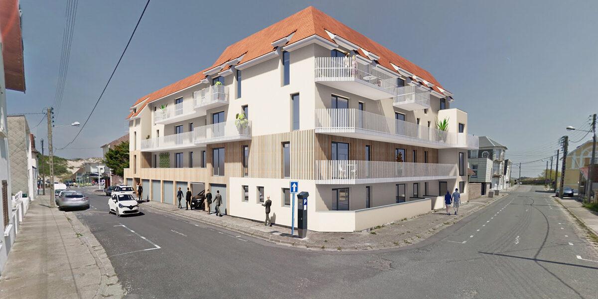 Appartement à vendre : Fort-mahon-plage . 27.94 m² . 1 pièce / studio