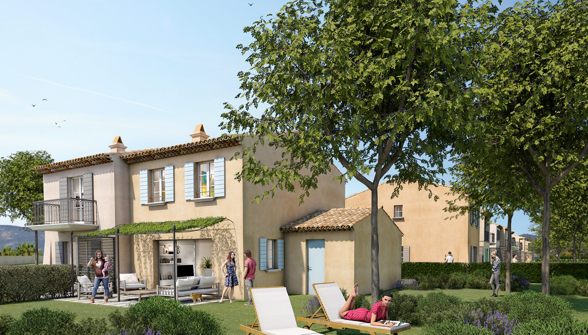 Programme immobilier neuf DOMAINE DES FEES - GRIMAUD