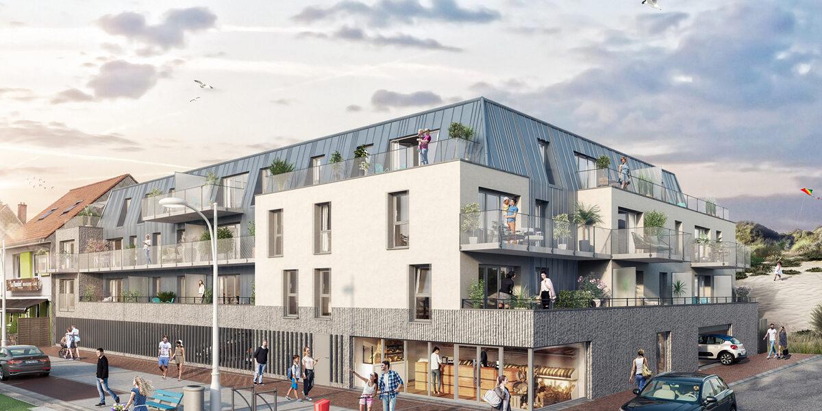 Appartement à vendre : Fort-mahon-plage . 29.83 m² . 1 pièce / studio