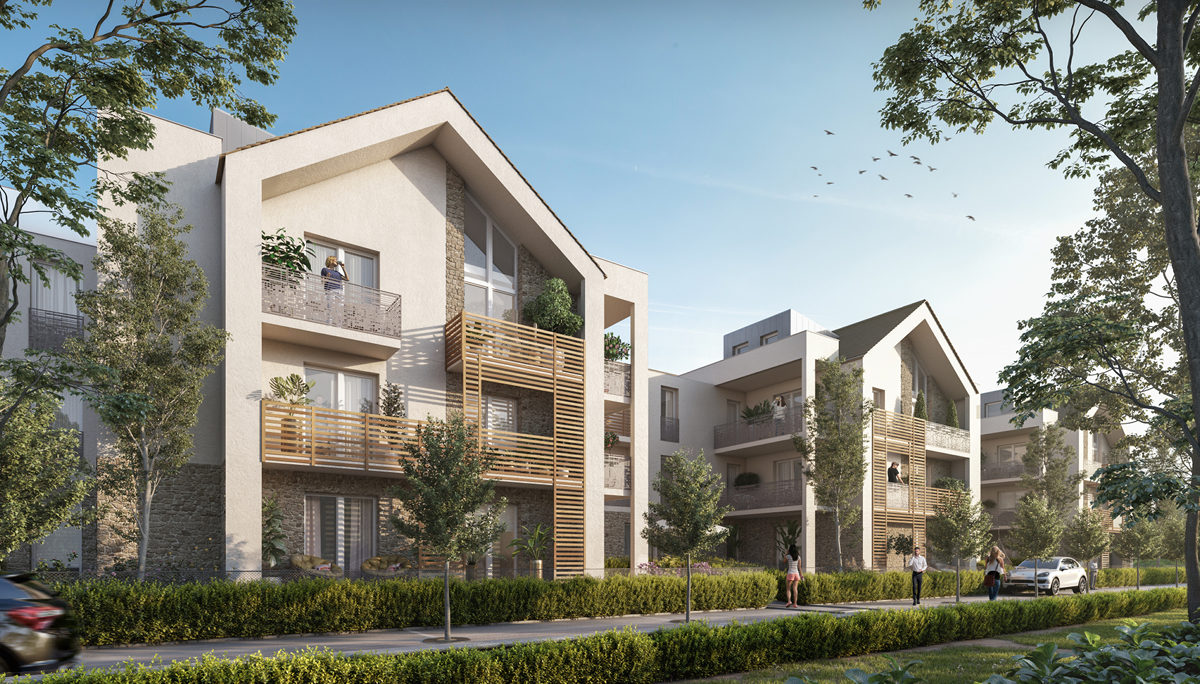 Programme immobilier neuf LES COTTAGES D'AMILLY - SERRIS