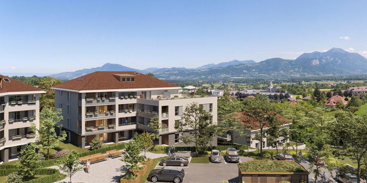 Appartement à vendre : La-roche-sur-foron . 41.45 m² . 2 pièces