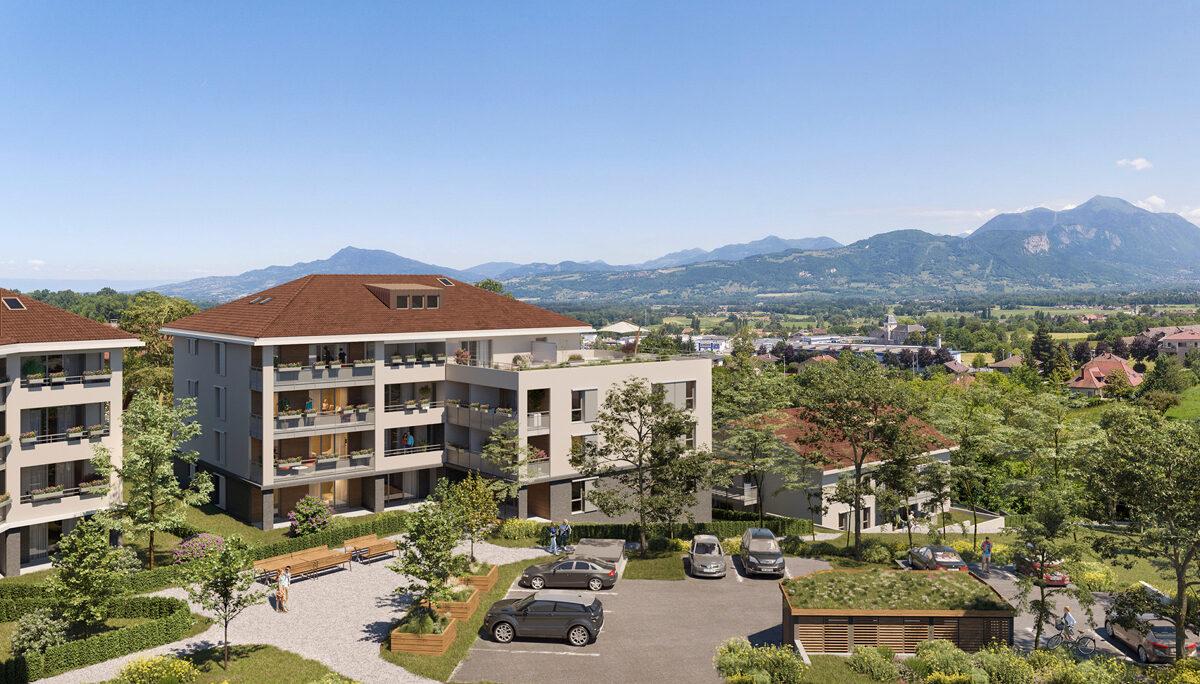 Appartement à vendre : La Roche Sur Foron . 41.45 m² . 2 pièces