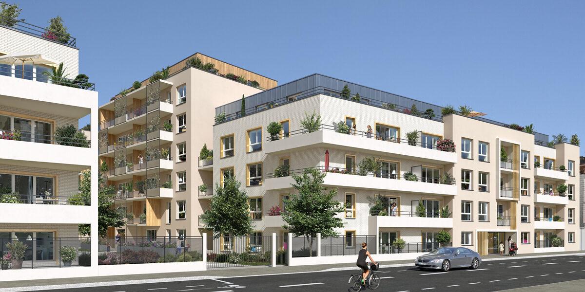 Appartement à vendre : Rouen . 69.99 m² . 3 pièces