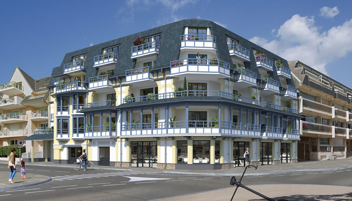Programme immobilier neuf GRAND LARGE - FORT MAHON PLAGE