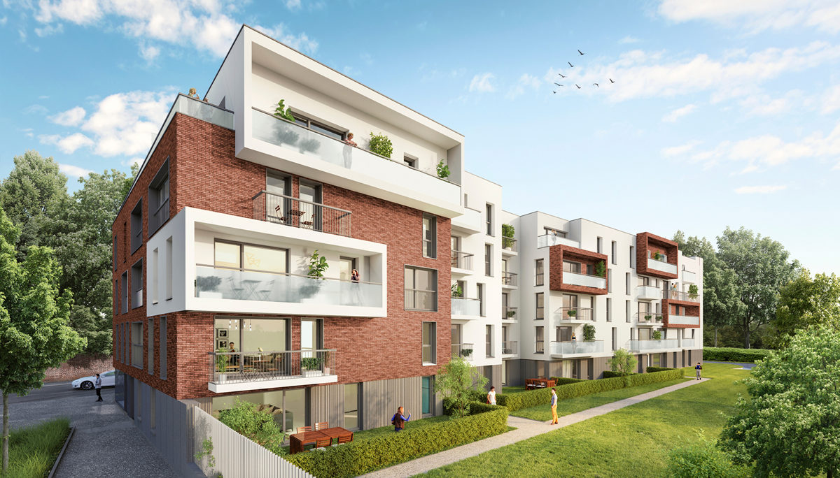 Programme immobilier neuf RESIDENCE BLANQUART EVRARD - LOOS