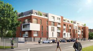 Programme immobilier neuf de 1 à 3 pièces Loos