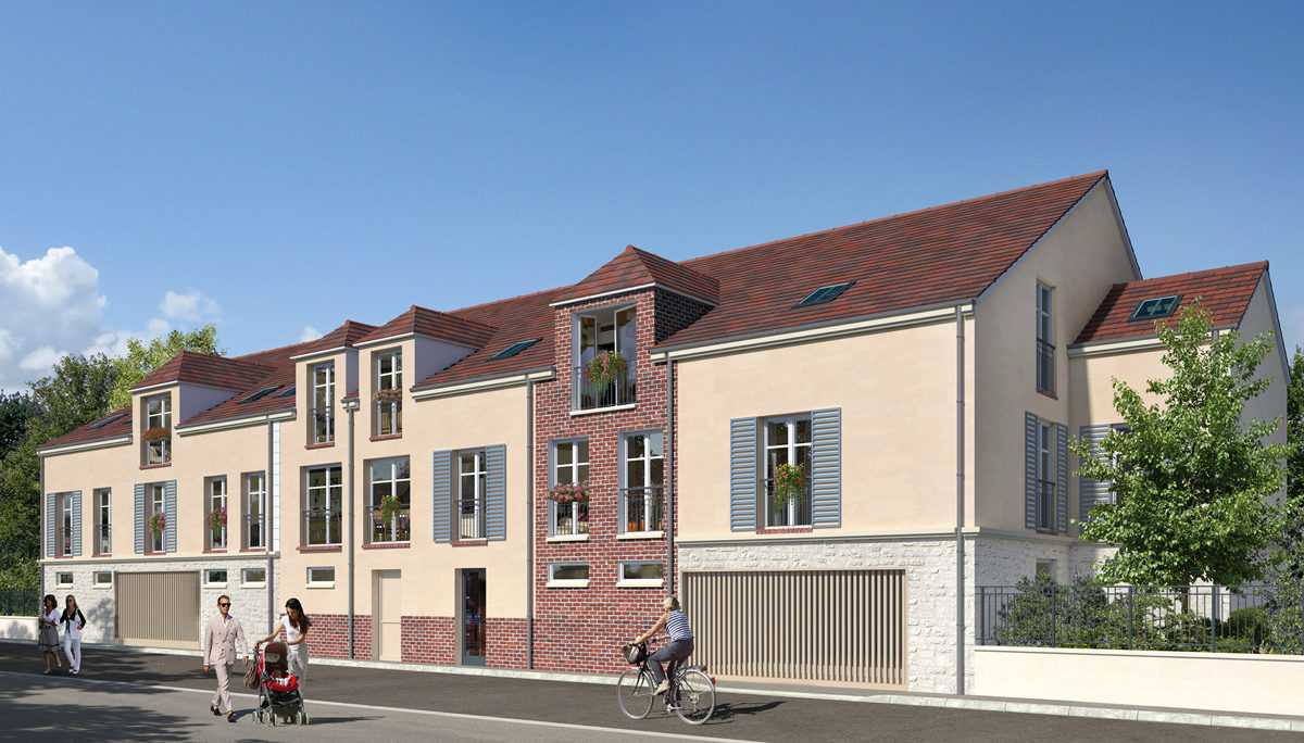 Programme immobilier neuf RESIDENCE PAPYRUS - NOGENT SUR OISE