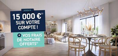 Programme immobilier neuf de 2 à 5 pièces Montevrain