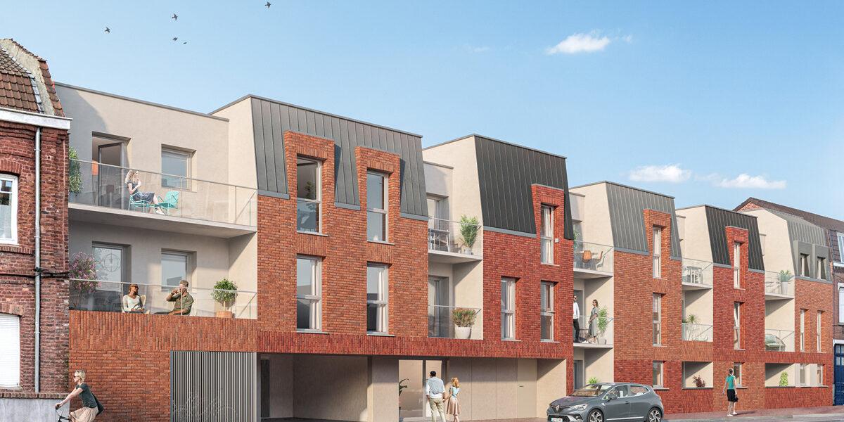 Appartement à vendre : Haubourdin . 30.22 m² . 1 pièce / studio