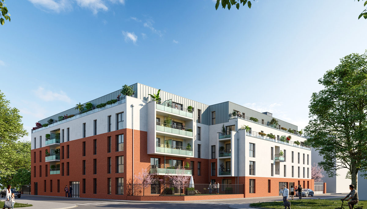 Programme immobilier neuf L'INTERLUDE - LILLE