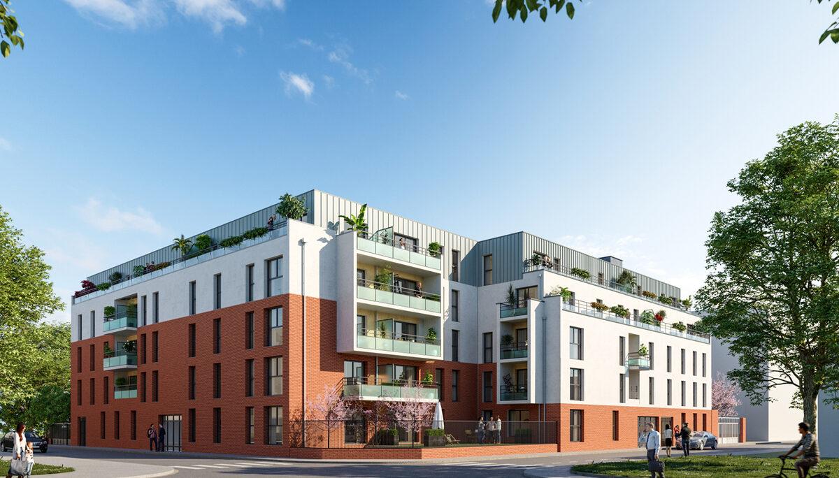 Appartement à vendre : Lille . 42.3 m² . 2 pièces