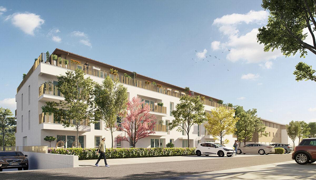 Appartement à vendre à Carbon Blanc . 40.61 m² . 2 pièces