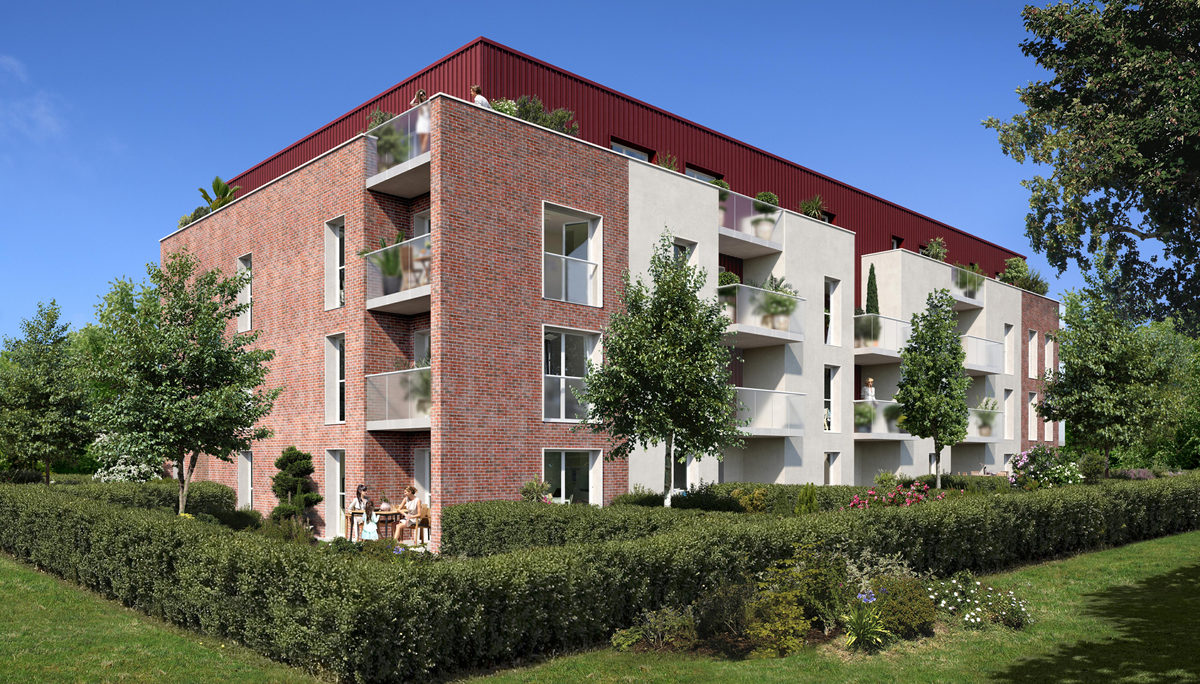 Programme immobilier neuf L'OR BLANC - BAILLEUL