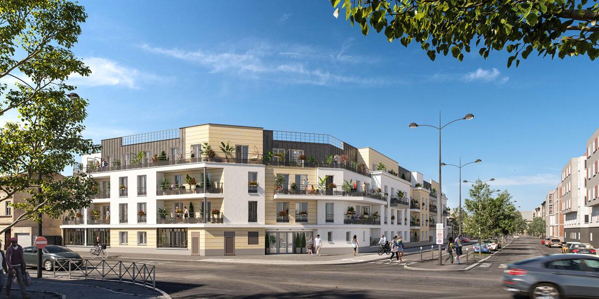 Appartement à vendre : Meaux . 39.95 m² . 2 pièces
