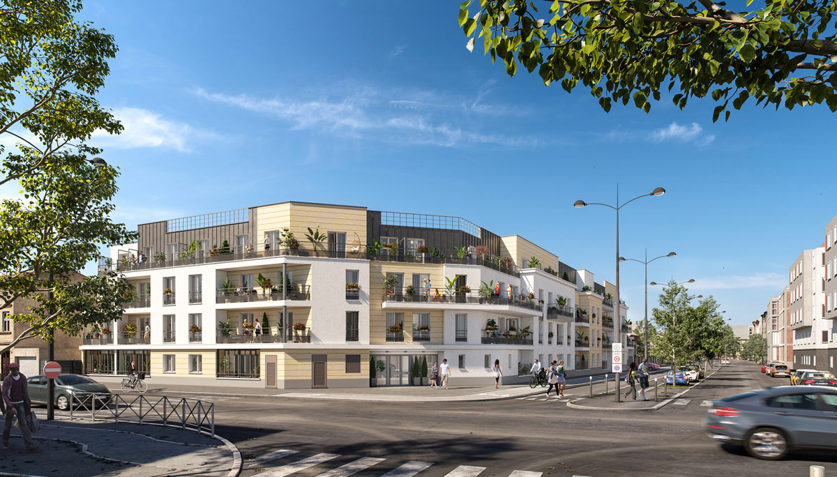 Programme immobilier neuf LUMINANCE - MEAUX