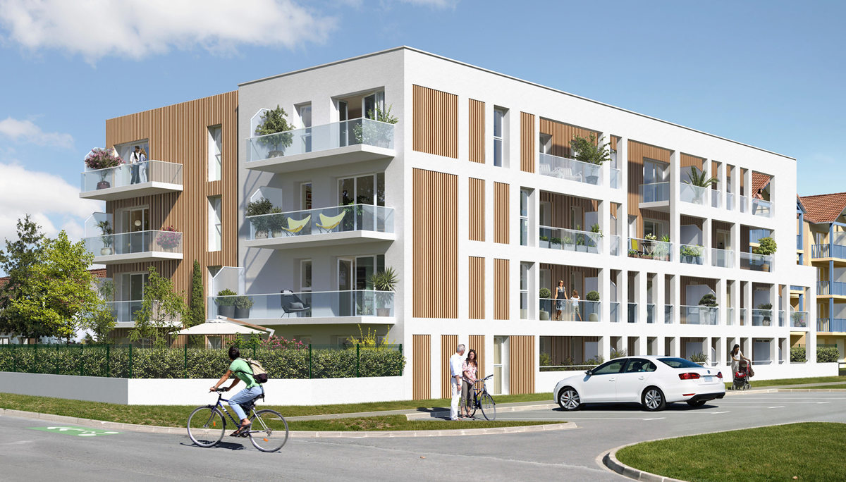Programme immobilier neuf RESIDENCE LES GRANDES MAREES - CUCQ