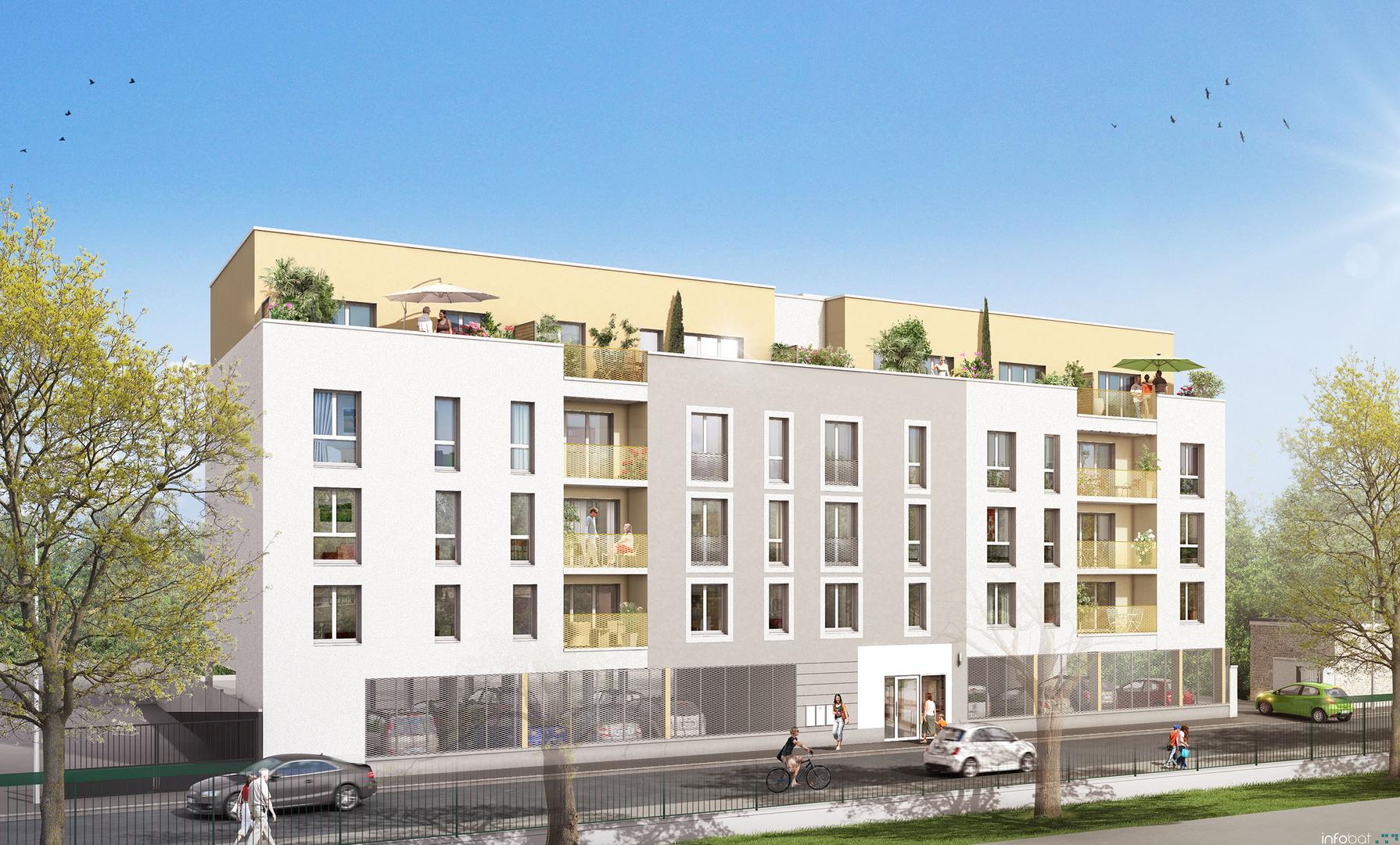 Appartement 2pcs 95400 VILLIERS LE BEL