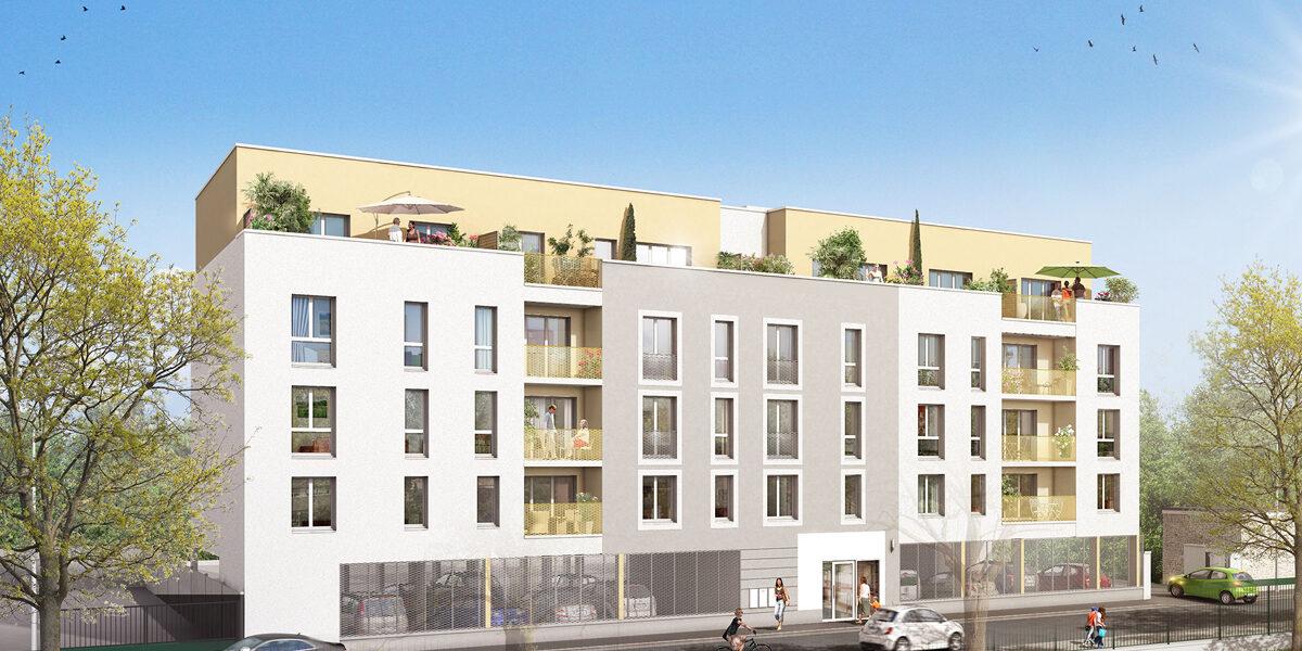 Appartement à vendre : Villiers-le-bel . 65.05 m² . 3 pièces