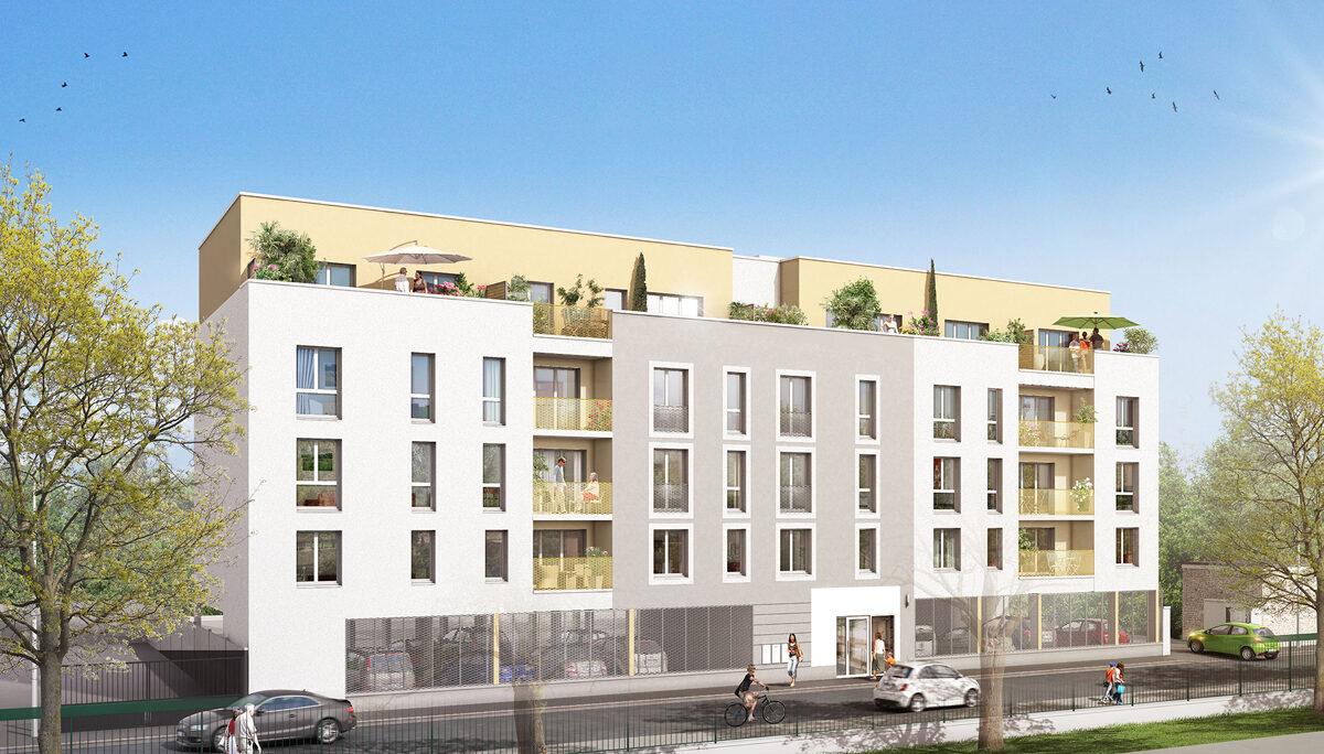 Appartement à vendre à Villiers Le Bel . 45.75 m² . 2 pièces