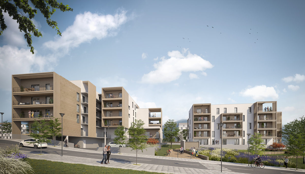 Programme immobilier neuf BELVED'R - CLERMONT FERRAND