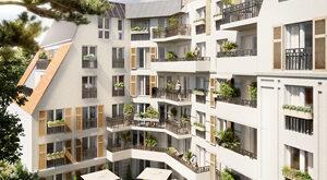 Programme immobilier neuf de 2 à 3 pièces Le Blanc Mesnil