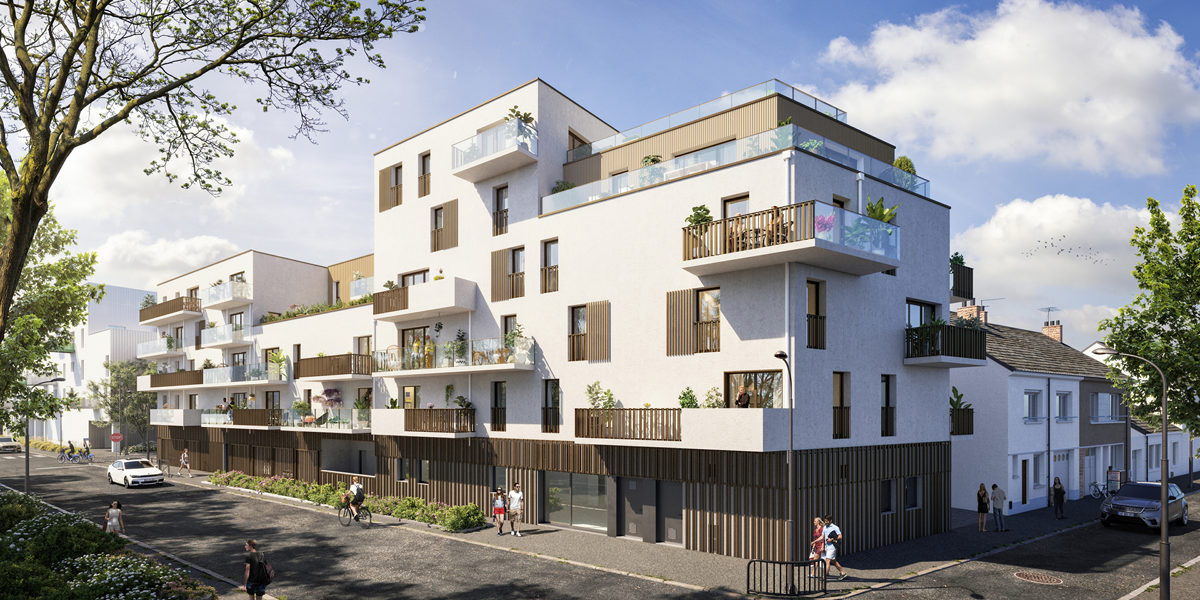 Appartement à vendre : Saint-nazaire . 60.2 m² . 3 pièces