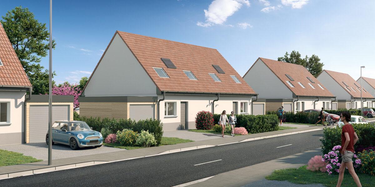 Maison à vendre : Ribecourt-dreslincourt . 82.4 m² . 4 pièces