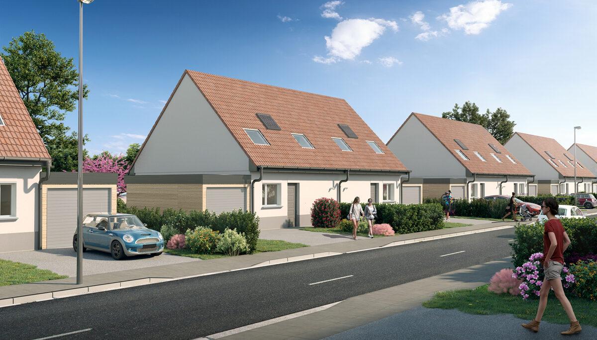 Maison à vendre : Ribecourt Dreslincourt . 82.4 m² . 4 pièces