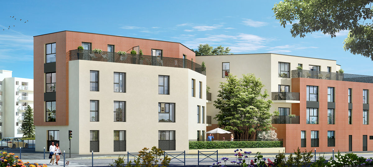 Programme immobilier neuf GRAND ANGLE - DAMMARIE LES LYS