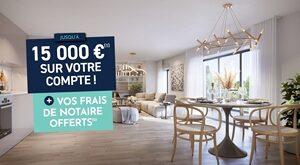 Programme immobilier neuf de 1 à 4 pièces Dammarie Les Lys