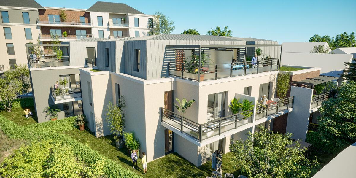 Appartement à vendre : Orleans . 44.06 m² . 2 pièces